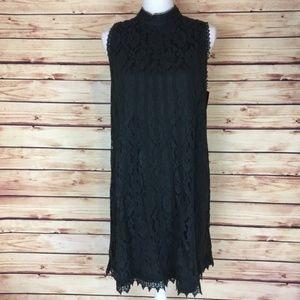 NWT Xhilaration Lace Dress Black Sleeveless XXL